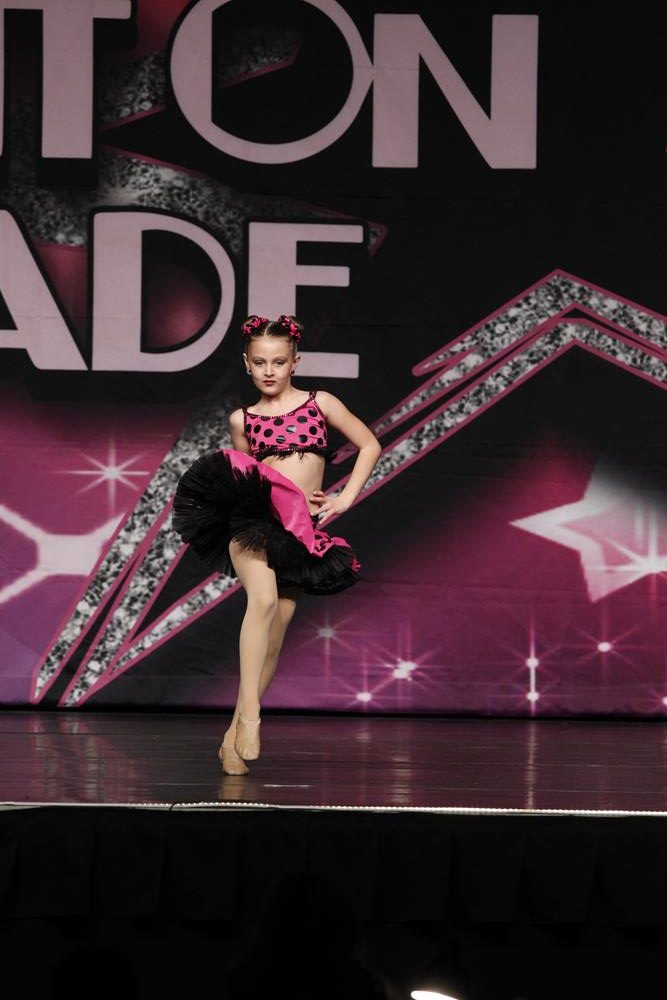 Mini Soloist competing at TOP Regional