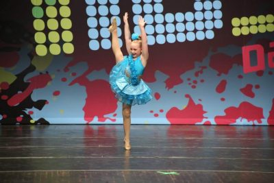 Soloist performing at In10sity regional competition