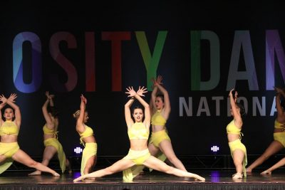 Over the Love performing at In10sity regional