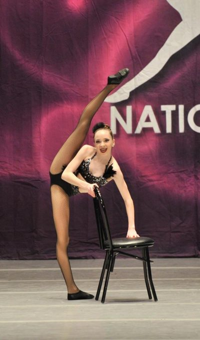 Soloist performing at Rainbow regional competition