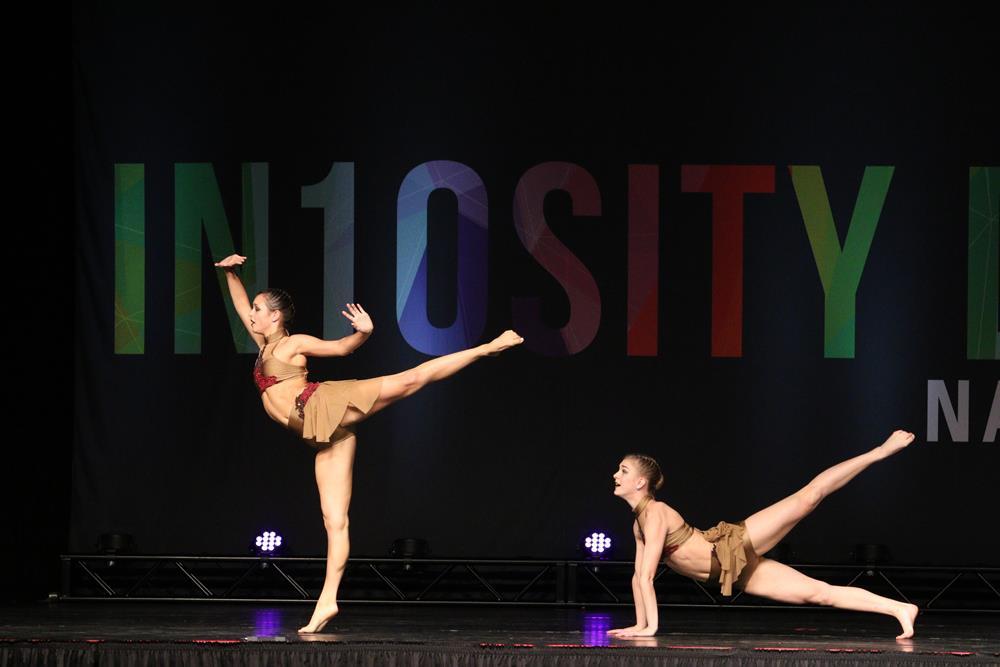 Senior Duet 5AM performing at In10sity regional