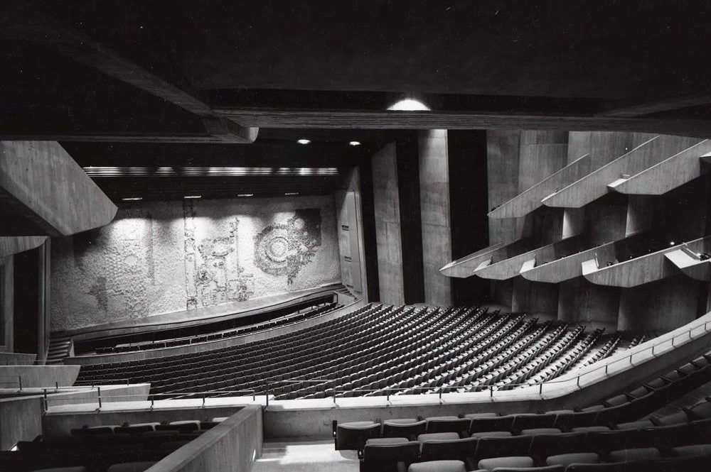 Stephens Auditorium Inside